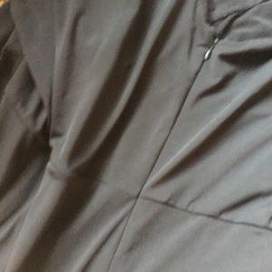 Eloquii Pants - Eloquii | Black Wide Leg Sequin Front Jumpsuit